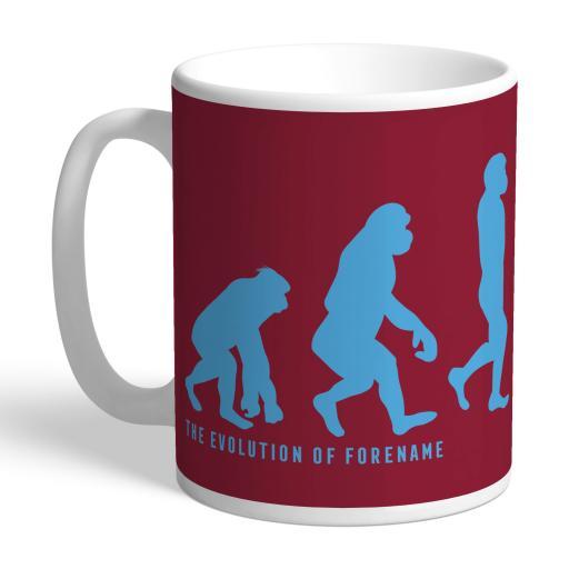 West Ham United FC Evolution Mug