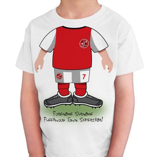 Fleetwood Town FC Kids Use Your Head T-Shirt