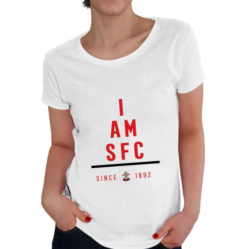 Southampton FC I Am Ladies T-Shirt