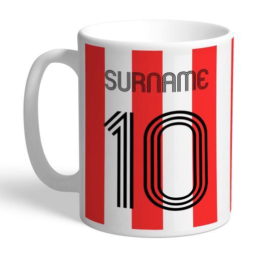 Sheffield United FC Retro Shirt Mug