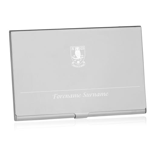 Sheffield Wednesday FC Executive Business Card Holder