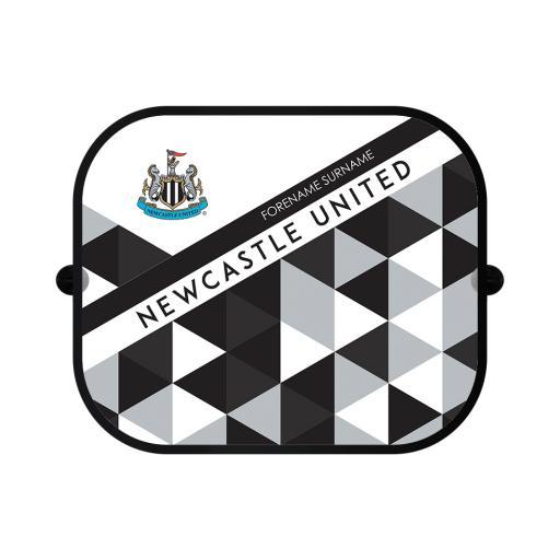 Newcastle United FC Patterned Car Sunshade