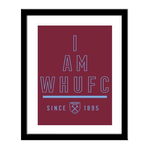 West Ham United FC I Am Print