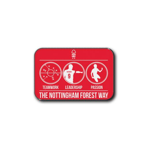Nottingham Forest FC Way Rear Car Mat