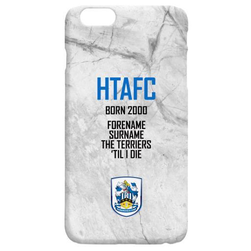 Huddersfield Town 'Til I Die Hard Back Phone Case