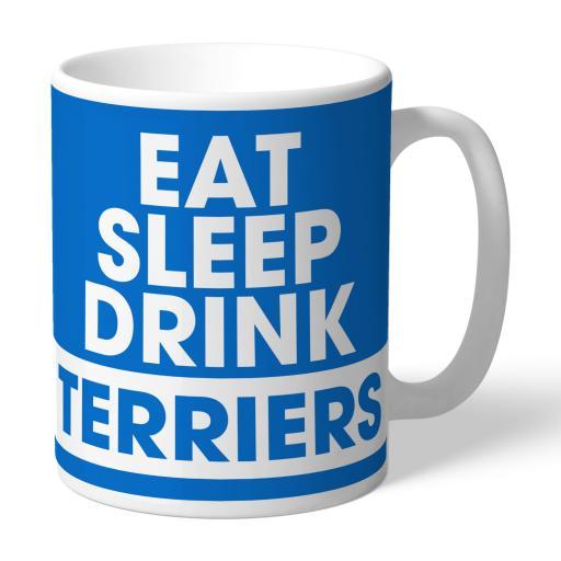 Huddersfield Town Eat Sleep Drink Mug