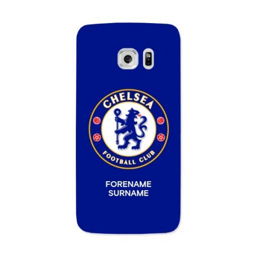 Chelsea FC Bold Crest Samsung Galaxy S7 Edge Phone Case
