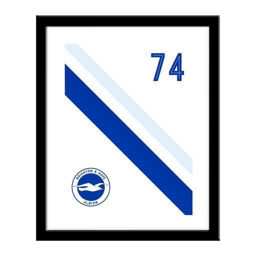Brighton & Hove Albion FC Stripe Print