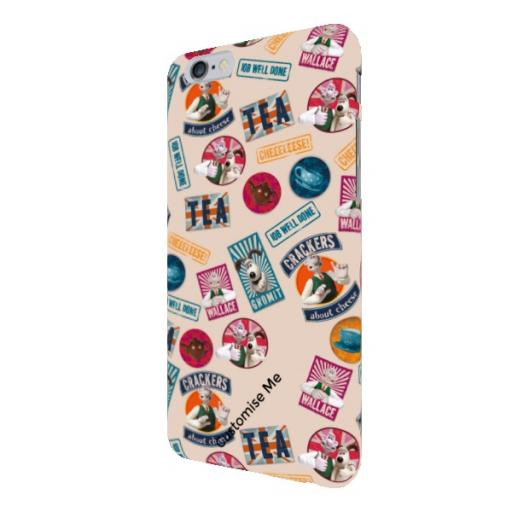 Aardman Wallace And Gromit Print iPhone 6/6s Clip Case