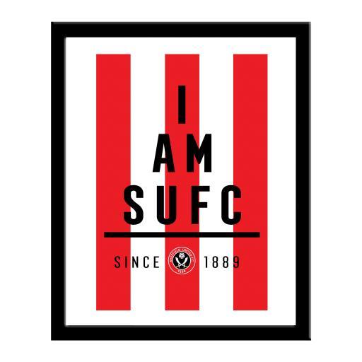 Sheffield United FC I Am Print