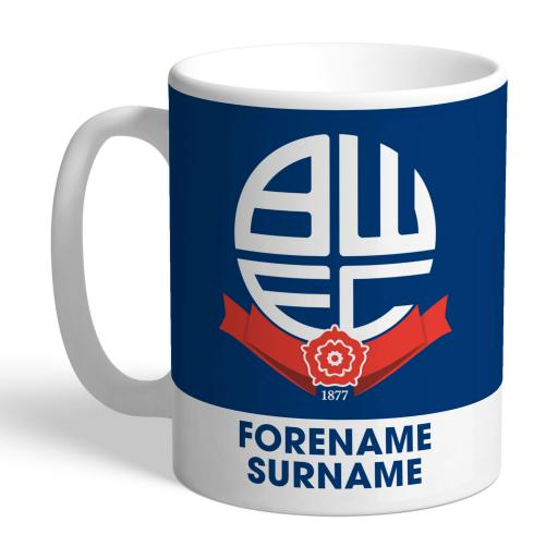 Bolton Wanderers Bold Crest Mug