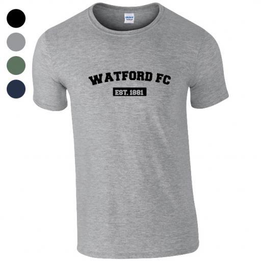 Watford FC Varsity Established T-Shirt