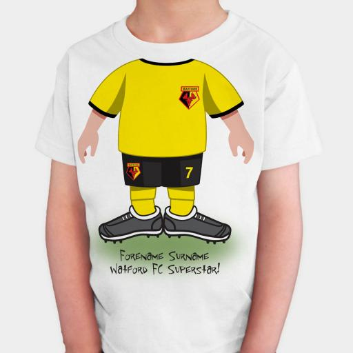 Watford FC Kids Use Your Head T-Shirt