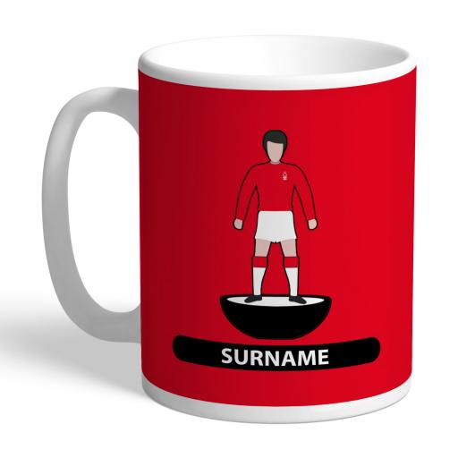 Nottingham Forest FC Player Figure Mug