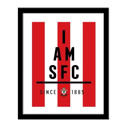 Southampton FC I Am Print