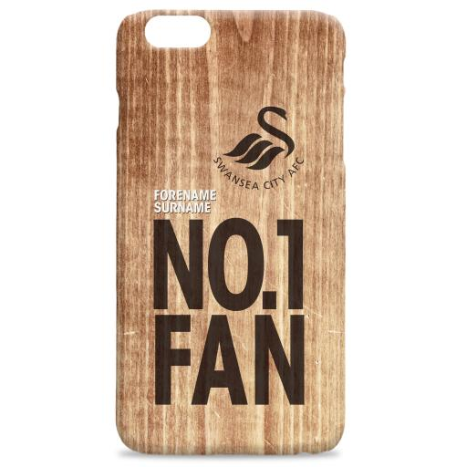 Swansea City AFC No 1 Fan Hard Back Phone Case