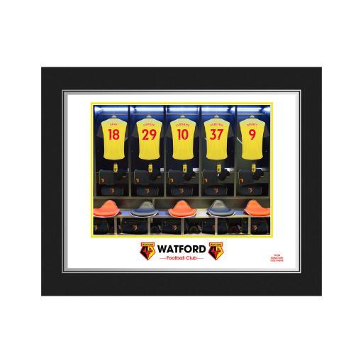 Watford FC Dressing Room Photo Folder