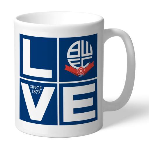 Bolton Wanderers Love Mug