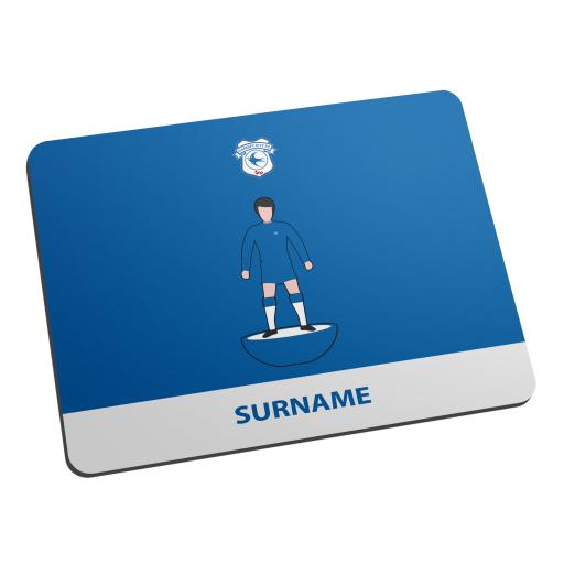 Cardiff City Player Figure Mouse Mat