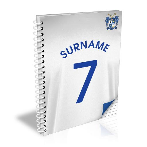 Bury FC Shirt Notebook