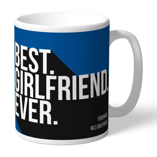 Personalised Birmingham City Best Girlfriend Ever Mug.