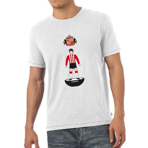Sunderland AFC Player Figure Mens T-Shirt