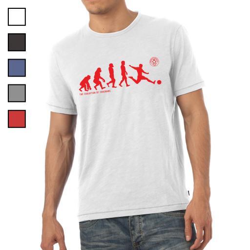 Sheffield United FC Evolution Mens T-Shirt