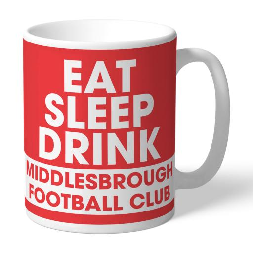 Middlesbrough FC Eat Sleep Drink Mug