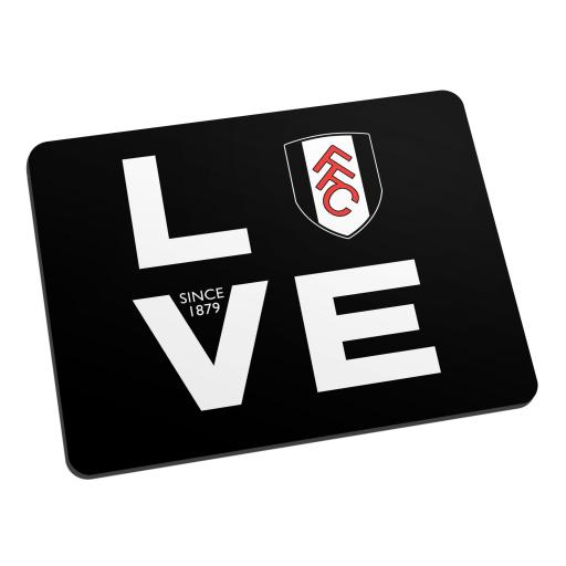 Fulham Love Mouse Mat