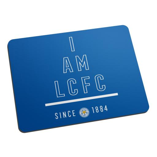 Personalised Leicester City FC I Am Mouse Mat.
