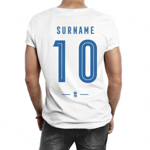 Birmingham City Retro Shirt Mens T-Shirt