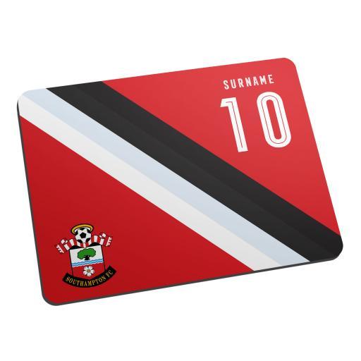 Southampton FC Stripe Mouse Mat