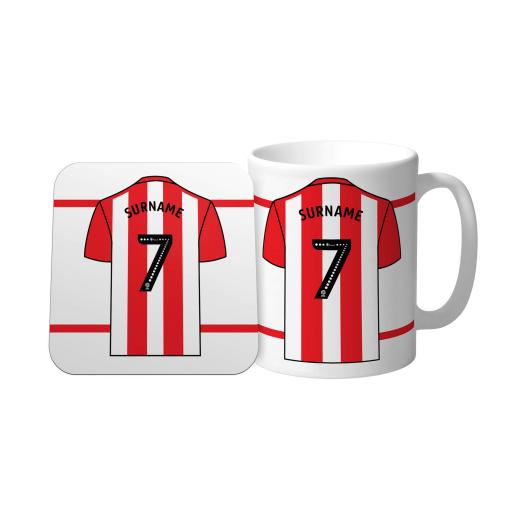 Sheffield United FC Shirt Mug & Coaster Set