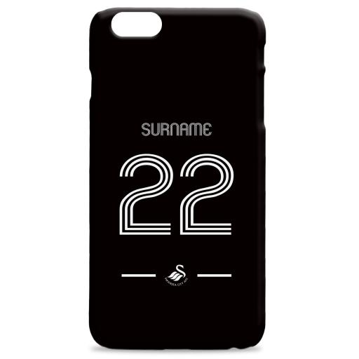 Swansea City AFC Retro Shirt Hard Back Phone Case