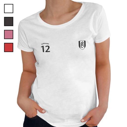 Fulham FC Ladies Sports T-Shirt