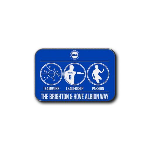 Brighton & Hove Albion FC Way Rear Car Mat