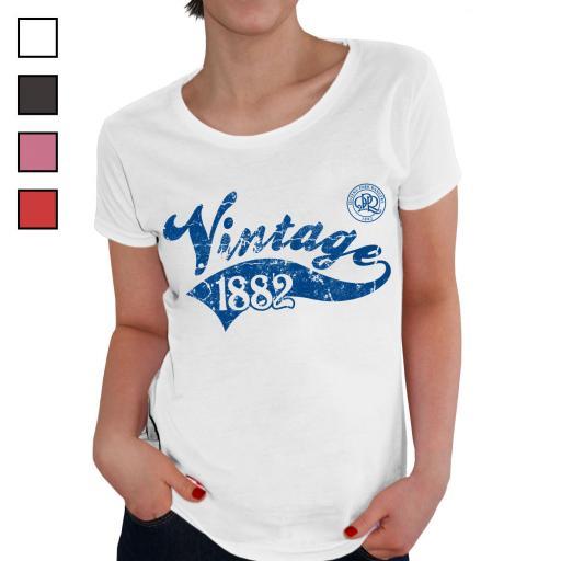 Queens Park Rangers FC Ladies Vintage T-Shirt