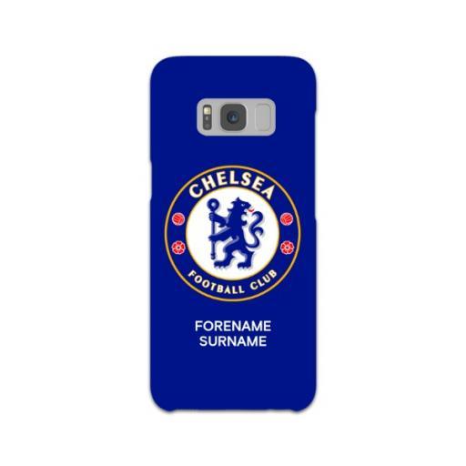 Chelsea FC Bold Crest Samsung Galaxy S8 Phone Case