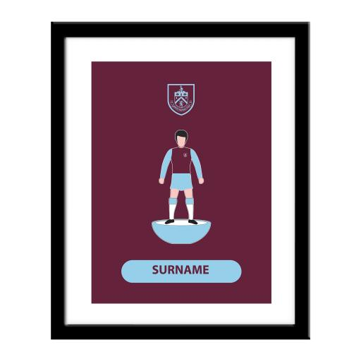 Burnley FC Player Figure Print