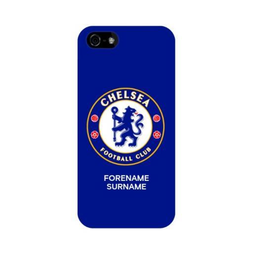 Chelsea FC Bold Crest iPhone 5/5S/5SE Phone Case