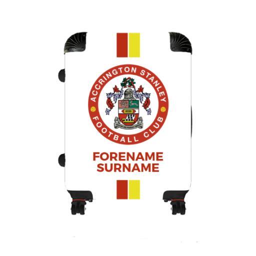 Accrington Stanley Stripe Medium Suitcase