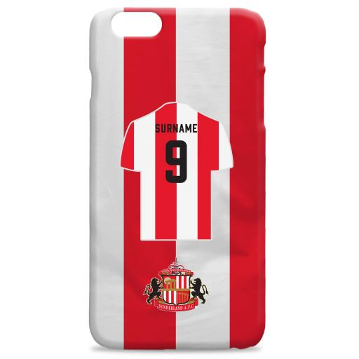 Sunderland AFC Shirt Hard Back Phone Case