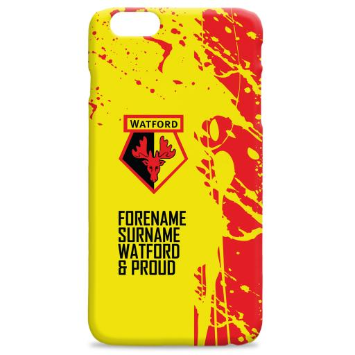 Watford FC Proud Hard Back Phone Case