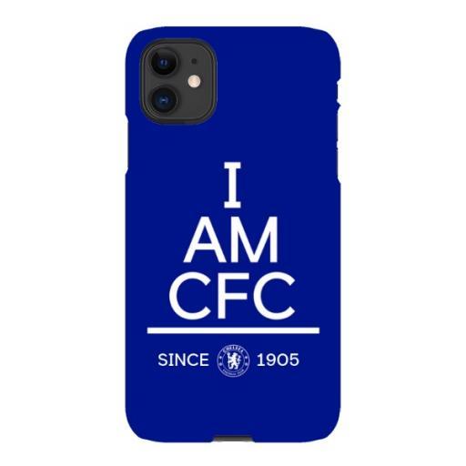 Chelsea FC I Am iPhone 11 Phone Case