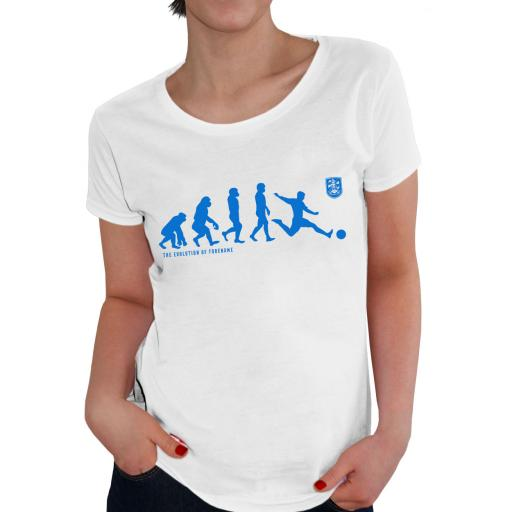 Huddersfield Town Evolution Ladies T-Shirt