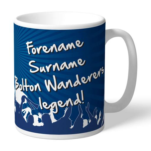 Bolton Wanderers FC Legend Mug