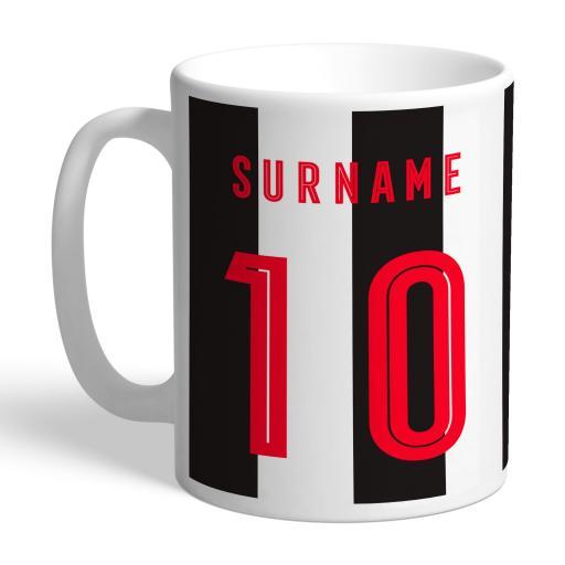 Newcastle United FC Retro Shirt Mug