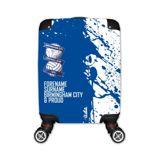 Personalised Birmingham City Proud Kid's Suitcase.