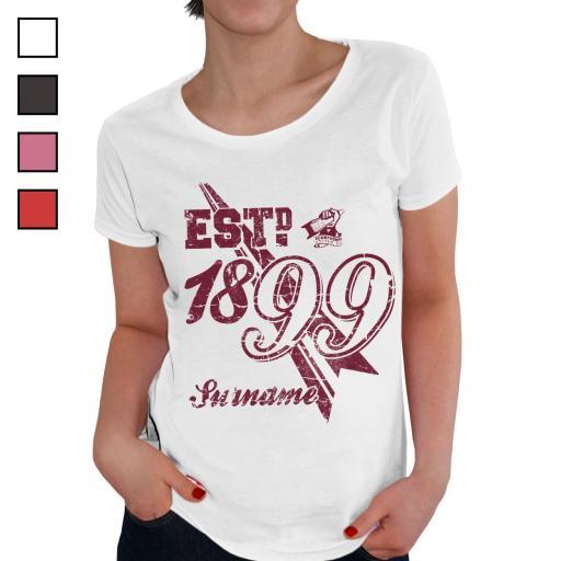 Scunthorpe United FC Ladies Established T-Shirt