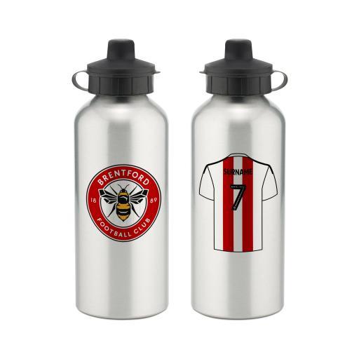 Brentford FC Aluminium Water Bottle